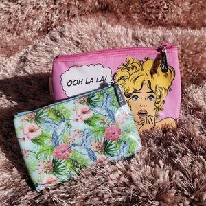 2 Catseye London Makeup Bags